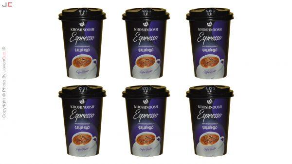 قهوه اسپرسو لیوانی 6 تایی لاکچری