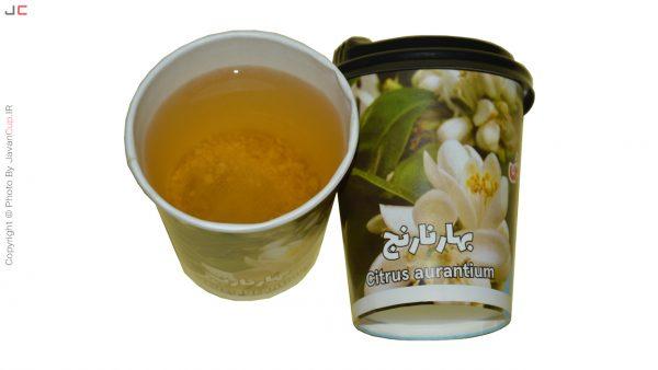 چای لیوانی بهار نارنج با درب تست شده