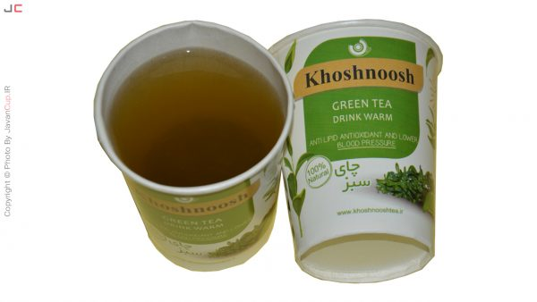 چای سبز لیوانی تست شده