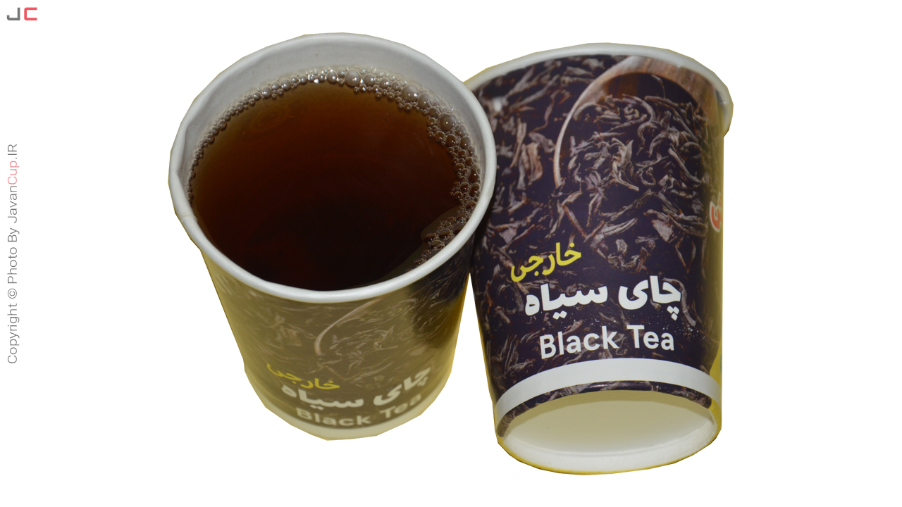 چای لیوانی سیاه خارجی تست شده