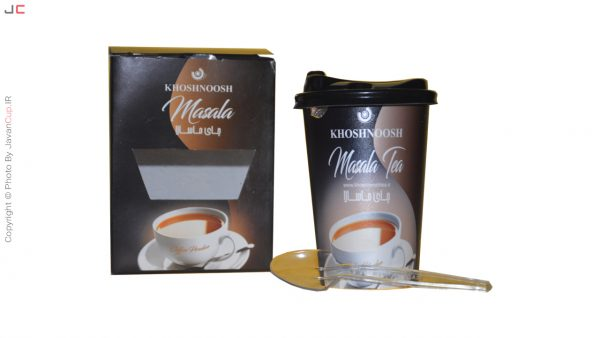چای لیوانی ماسالا تک نفره درب دار با بسته بندی