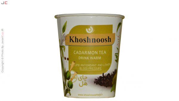لیوان چای دار هل