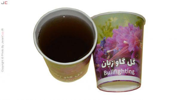 چای لیوانی گل گاو زبان تست شده