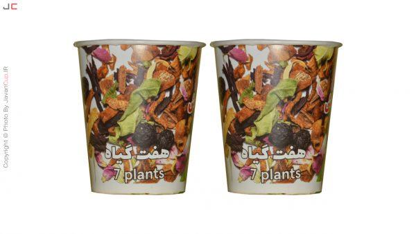 دمنوش لیوانی هفت گیاه دوتایی