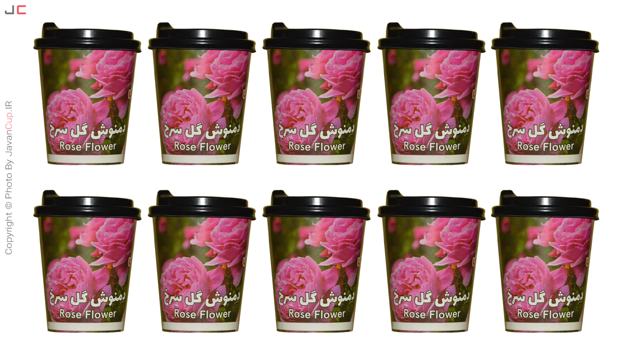 دمنوش گل سرخ | لیوان دمنوش دار گل سرخ | لیوان چای دار | تی کاپ | تی کاپ گل سرخ | چای فوری | چای لیوانی | خوش نوش | جوان کاپ
