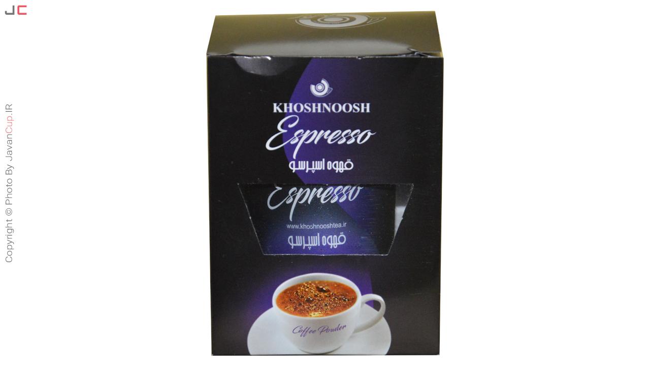 قهوه لیوانی اسپرسو تک نفره بسته بندی