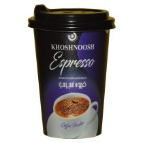 قهوه لیوانی اسپرسو تک نفره درب دار