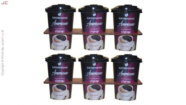 قهوه امریکانو لیوانی 6 تایی با سینی