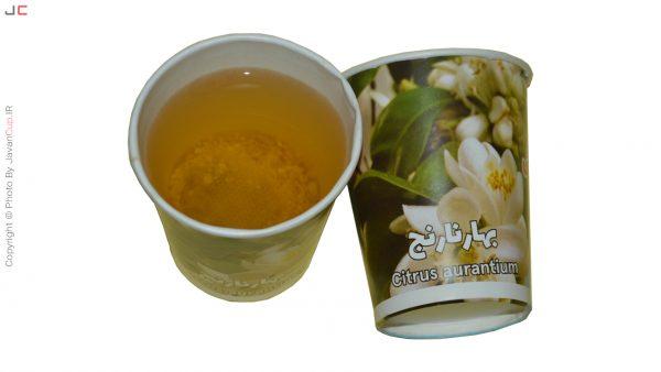 چای لیوانی بهار نارنج تست شده