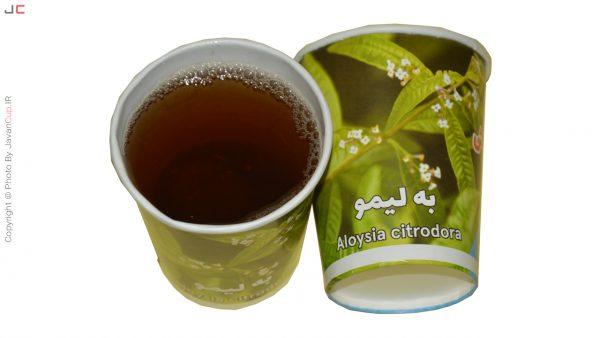 چای لیوانی به لیمو تست شده