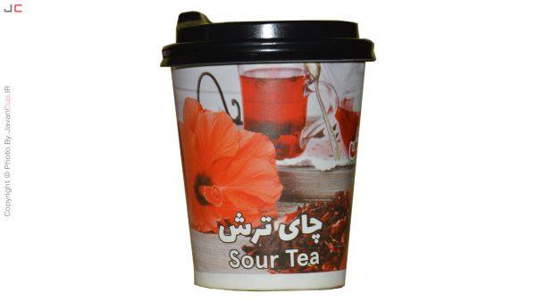 چای ترش لیوانی با درب