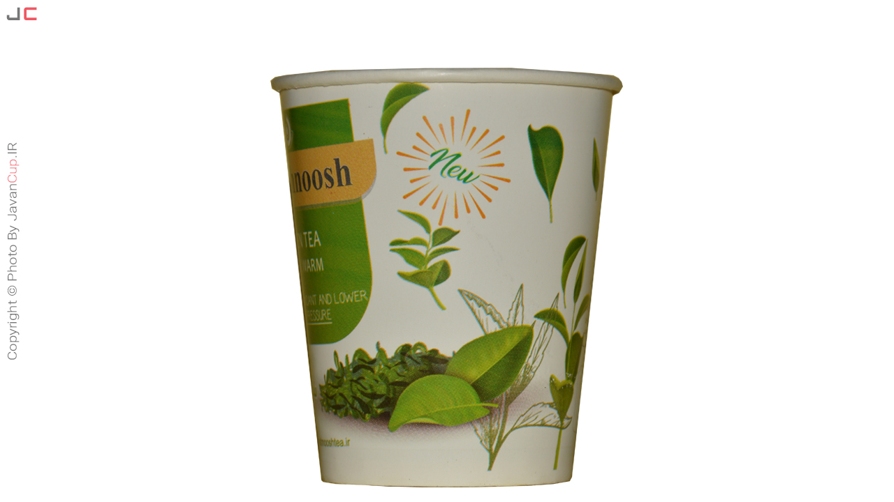 چای سبز لیوانی پشت