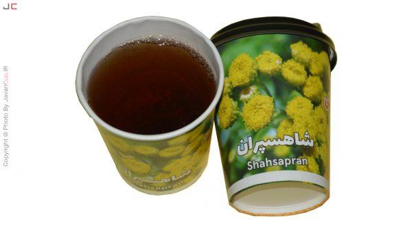 چای لیوانی شاهسپران با درب تست شده
