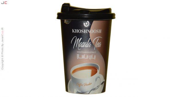 چای لیوانی ماسالا تک نفره درب دار