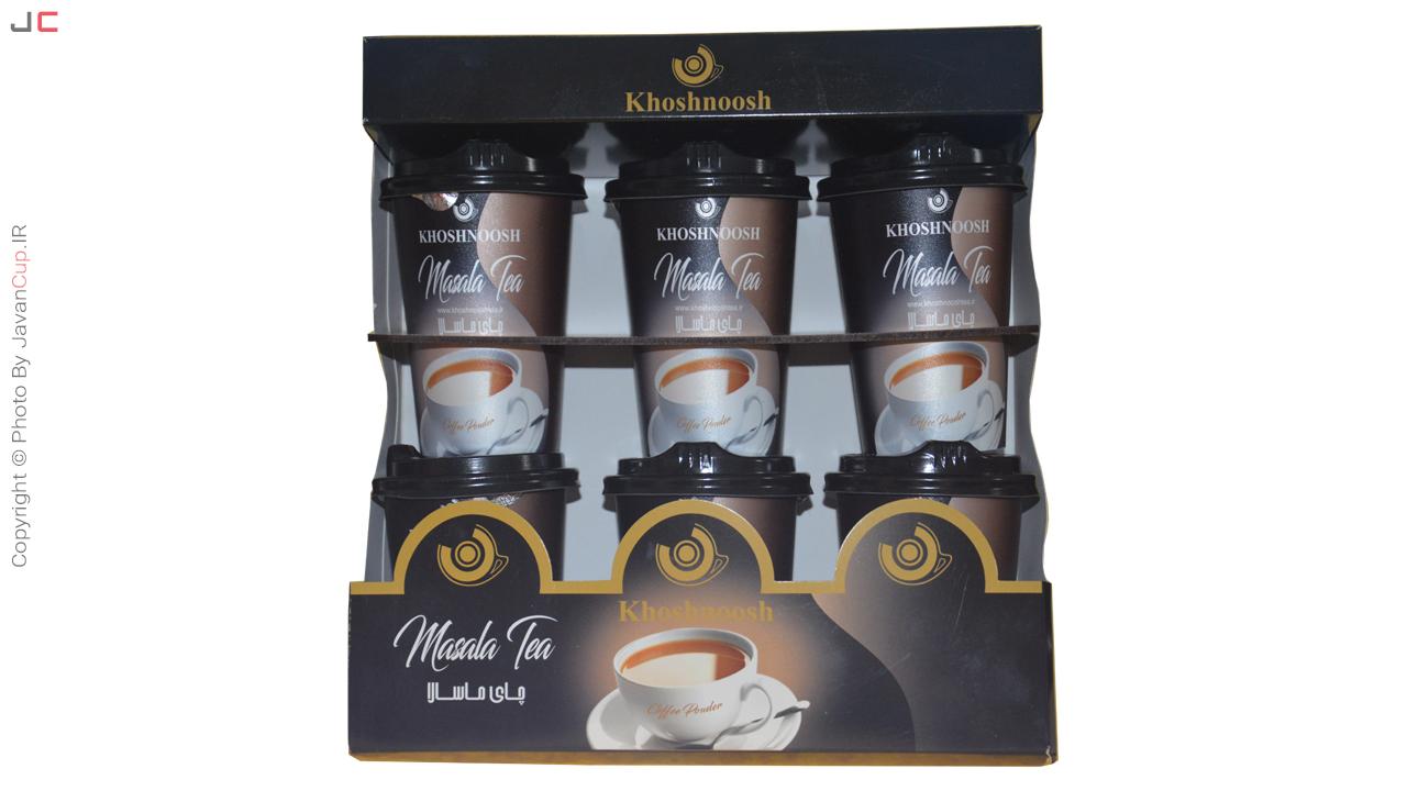 چای لیوانی ماسالا 6 نفره لاکچری
