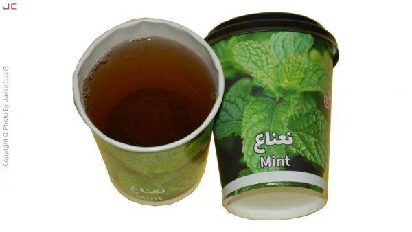 لیوان چای دار نعناع | چای لیوانی | لیوان چای دار