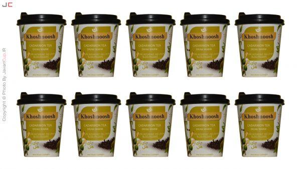 چای لیوانی هل با درب ده تایی