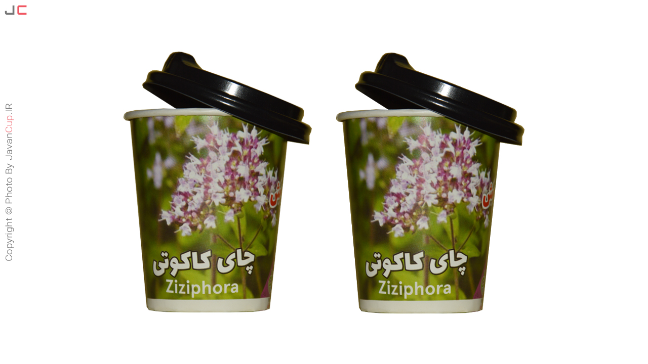 چای لیوانی کاکوتی با درب نصفه دوتایی