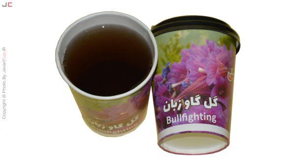 چای چای گل گاو زبان با درب تست شده