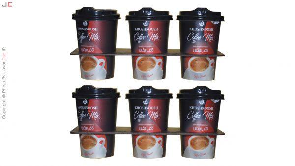 کافی میکس لیوانی 6 تایی با سینی