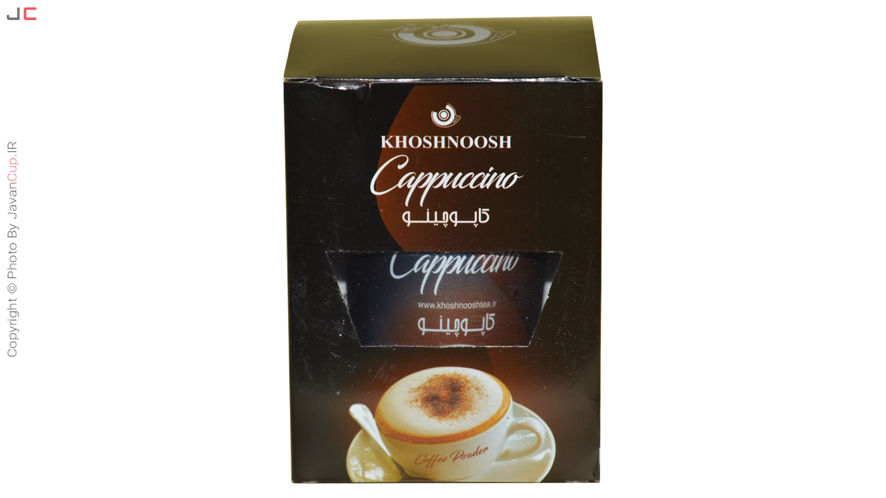 کاپوچینو لیوانی تک نفره بسته بندی