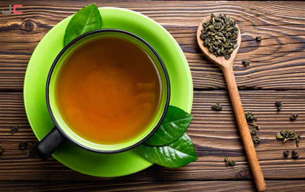 فنجان چای سبز