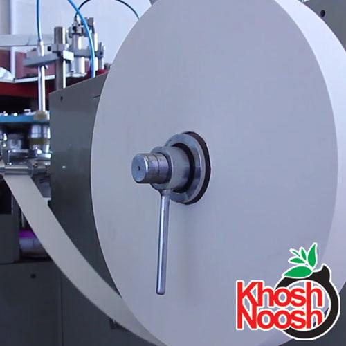 فرایند تولید لیوان کاغذی