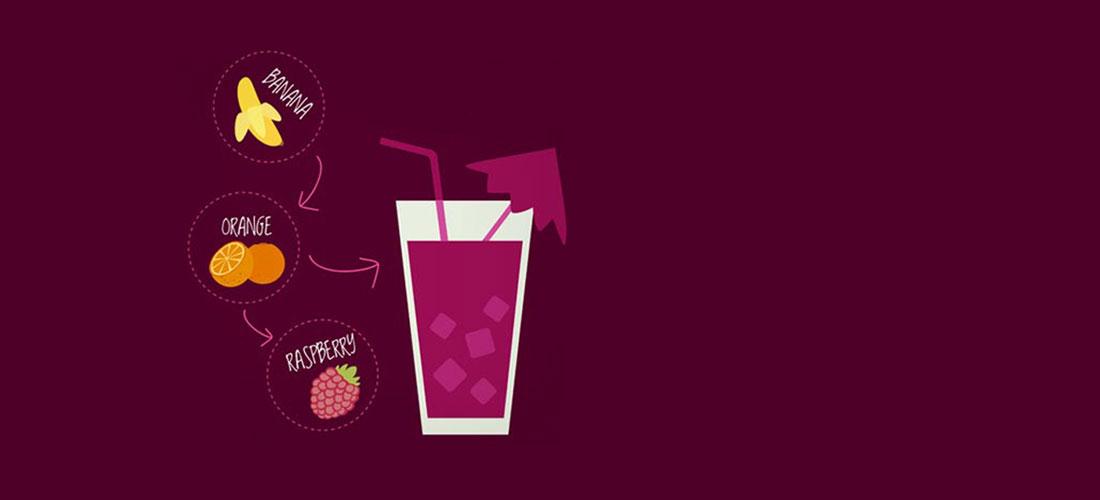 آب میوه طبیعی خوش نوش
